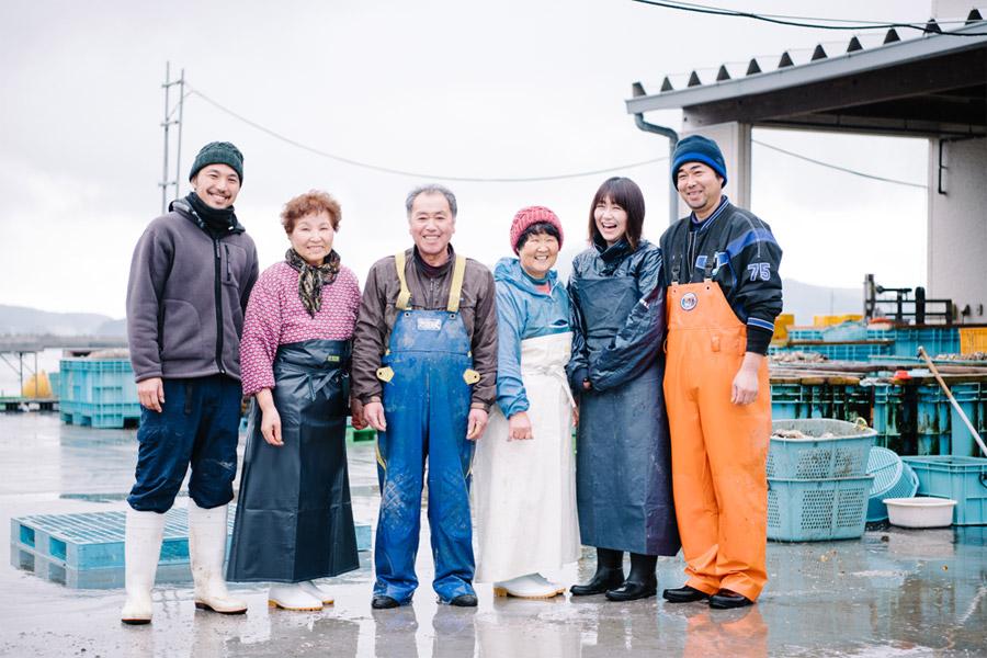 一本松牡蠣の生産者